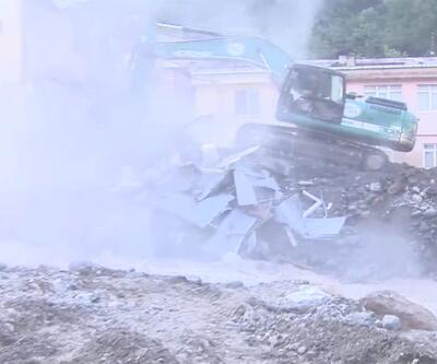 Son Dakika Haberi... Giresun'da yıkım başladı | Video