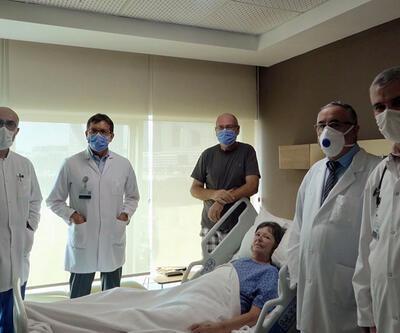 Son dakika: İngiliz hastayı Türk doktorlar kurtardı | Video