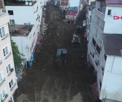 Giresun'da sel felaketinin 4. günü. CNN TÜRK ekibi sel bölgesinde | Video