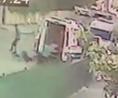 Ambulans şoförü silahlı saldırıya uğradı | Video