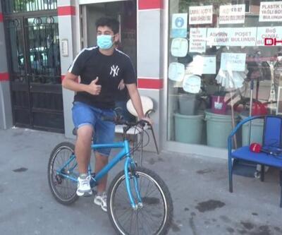 CİMER'den bisiklet istedi, evine kadar geldi | Video