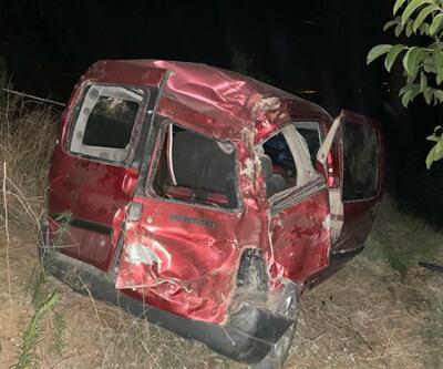 Manisa'daki kaza, eşleri ayırdı