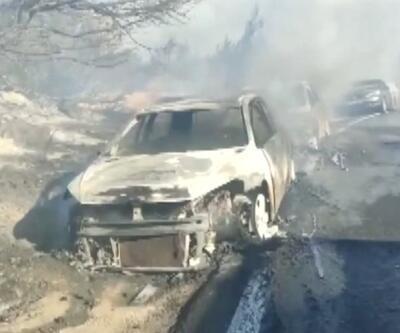 Orman yangınına izmarit sebep olmuş | Video