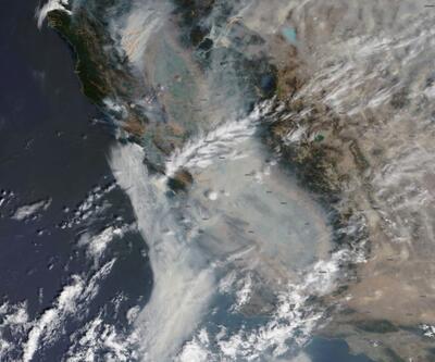 Trump 'büyük afet' ilan etmişti: NASA uydu görüntülerini paylaştı