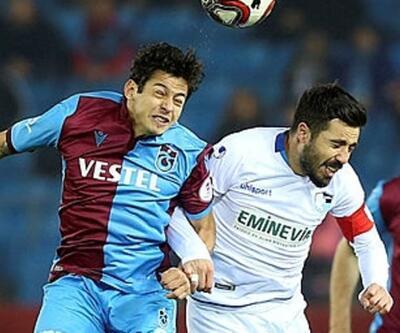 Erzurumspor-Trabzonspor maçı iptal edildi