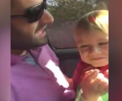 Kamyonla manevra yaparken 6 yaşındaki oğlunu ezdi | Video