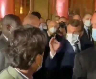 Son Dakika! Fransa Cumhurbaşkanı Macron gazeteciyi azarladı   Video