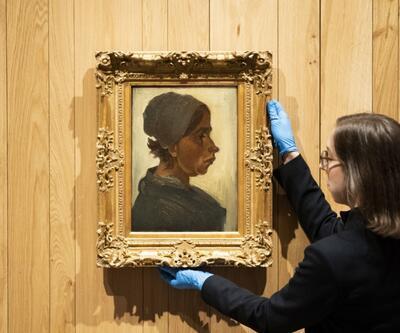 Van Gogh'un 'Kadın Başı' tablosu 1,6 milyon Euro'ya satıldı!