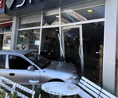 Veteriner için geldi, otomobili park ederken kuaför dükkanına girdi