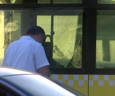 Son Dakika Haberi! Metrobüse kurşun isabet etti | Video