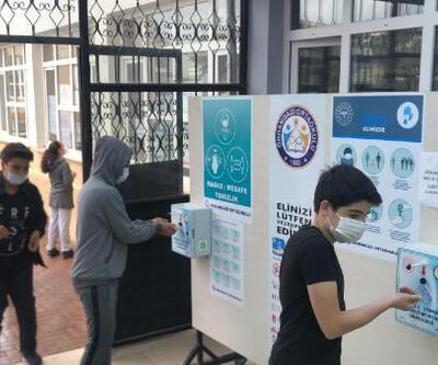 Son dakika.. Bursluluk Sınavı'nda koronavirüs tedbirlerine özen gösterildi