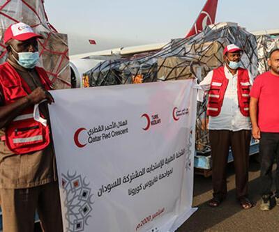 Türkiye'den Sudan'a koronavirüs desteği