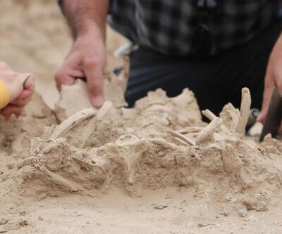 Van'da Urartulara ait nekropolde takılarıyla birlikte bir bebek iskeleti bulundu!