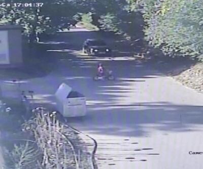 Bisikletli çocuğa otomobilin çarpma anı kamerada | Video