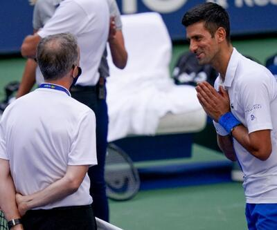 Novak Djokovic diskalifiye edildi