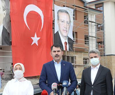 Bakan Kurum'dan Elazığ ve Malatya açıklaması