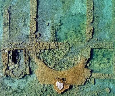 Sular çekildi, 2 bin yıllık bazilika yeniden görüldü