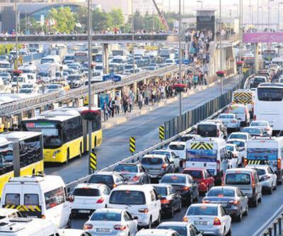 Kademeli mesai saatleri kaç? Kademeli mesai ne demek nasıl olacak? İstanbul trafik yoğunluk haritası bilgiler!