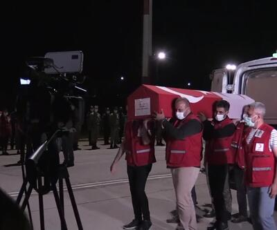 Son dakika haberleri: Kızılay şehidi için tören   Video