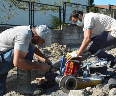 Karadeniz Ereğli'de ilave şu şebekesi hatları yapılıyor