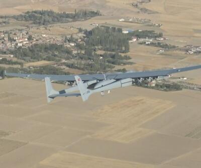 Aksungur 12 füzeyle bir günden fazla uçtu | Video