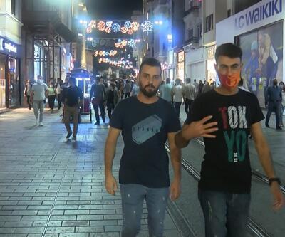 İstiklal Caddesi'nde artan vakalara rağmen yoğunluk