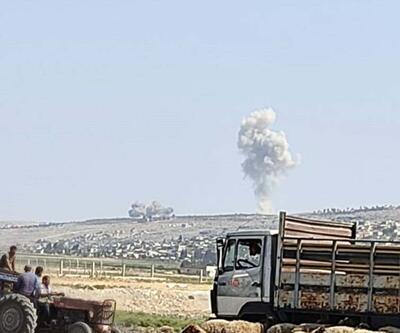 Rus uçakları, İdlib'in güneyini bombalıyor
