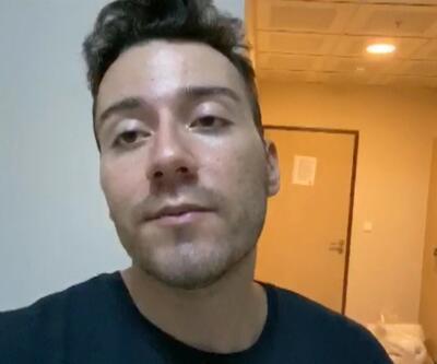 Enes Batur karantinadan kaçtı   Video