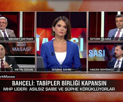 """""""Tabipler Birliği kapansın"""" çıkışı, """"Neden Atatürk demedin?"""" polemiği ve Doğu Akdeniz'deki gelişmeler CNN TÜRK Masası'nda tartışıldı"""