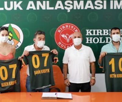 Aytemiz Alanyaspor'a yeni sponsor