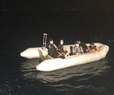 Muğla'da 17 kaçak göçmen kurtarıldı