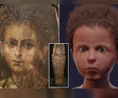 2 bin yıllık mumyaya yeni yüz
