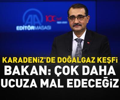 Bakan Dönmez'den Karadeniz'deki doğalgaz keşfiyle ilgili açıklama