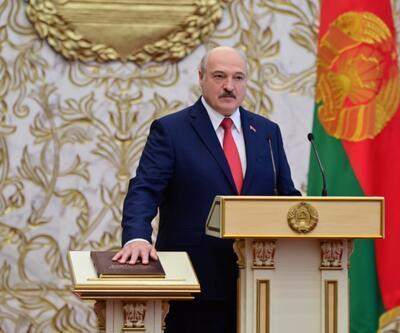 Belarus'ta Lukaşenko yemin ederek görevine başladı... Almanya'dan flaş açıklama
