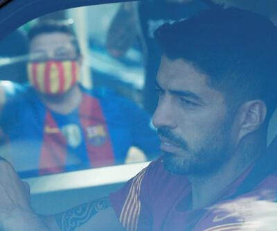 Son dakika... Luis Suarez Barcelona'ya veda etti