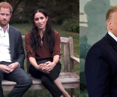 Trump şimdi de Meghan Markle ve Prens Harry'e karşı
