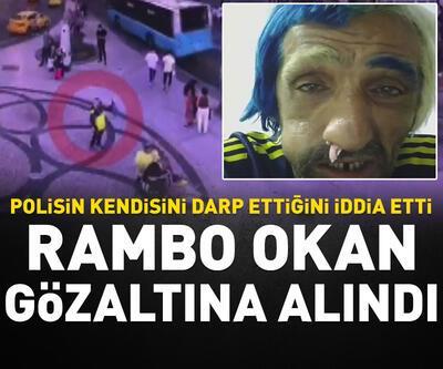 Rambo Okan gözaltına alındı