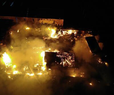 Son Dakika Haberler... Palet fabrikasında yangın