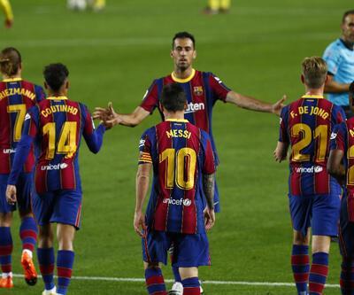 Barcelona 4 golle kazandı