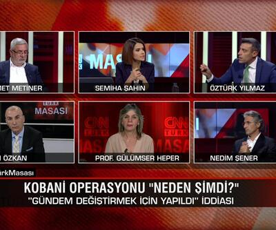 Kobani operasyonu neden şimdi? İmamoğlu-Yavaş'ın önü kesildi mi? Kılıçdaroğlu'nun adayı Gül mü? CNN TÜRK Masası tartışıldı