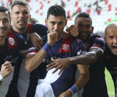 Antalyaspor çıkışını sürdürdü