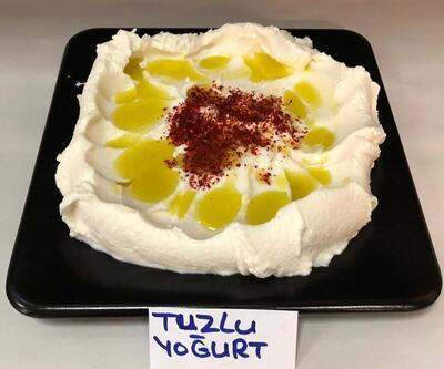 Hatay'ın tescilli 'Antakya tuzlu yoğurdu', 20 yemeğe lezzet veriyor