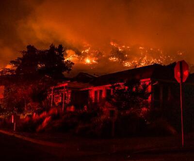 O bölgeye girişler kapatıldı: ABD'de yangın kabusu sürüyor