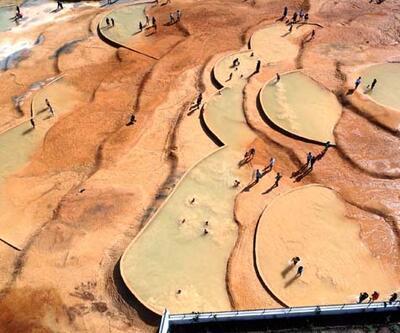 Şifa arayanların gözdesi oldu! Altınkale Kaplıcaları'na ziyaretçi akını