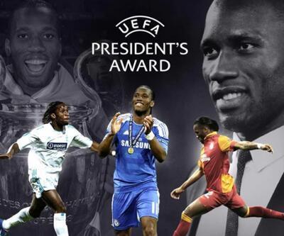 UEFA'dan Didier Drogba'ya ödül