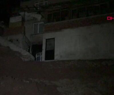 Karantinadaki bina boşaltıldı