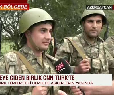 Cepheye giden birlik CNN TÜRK'e konuştu