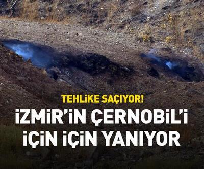 İzmir'in Çernobil'i için için yanıyor
