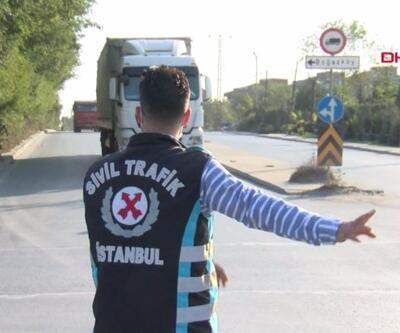 Hafriyat kamyonlarına ceza yağdı