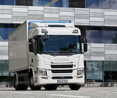 Scania elektrikli kamyonu yola çıkarıyor